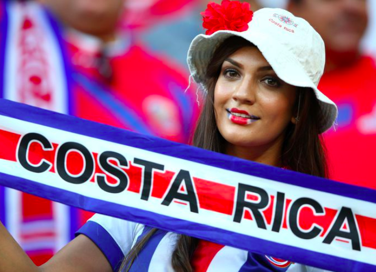 Images, Pictures and Photos of Beautiful, Sexy and Hot Costa Rican girls - Costa Rica Female Fans In World Cup 2018