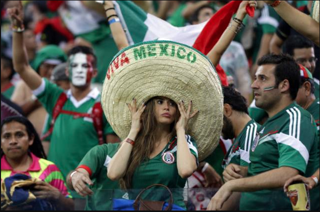 Images, Pictures and Photos of Beautiful, Sexy and Hot Mexican girls - Mexico Female Fans In World Cup 2018