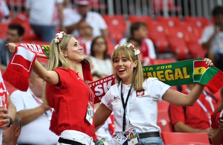 Images, Pictures and Photos of Beautiful, Sexy and Hot Polish girls - Poland Female Fans In World Cup 2018