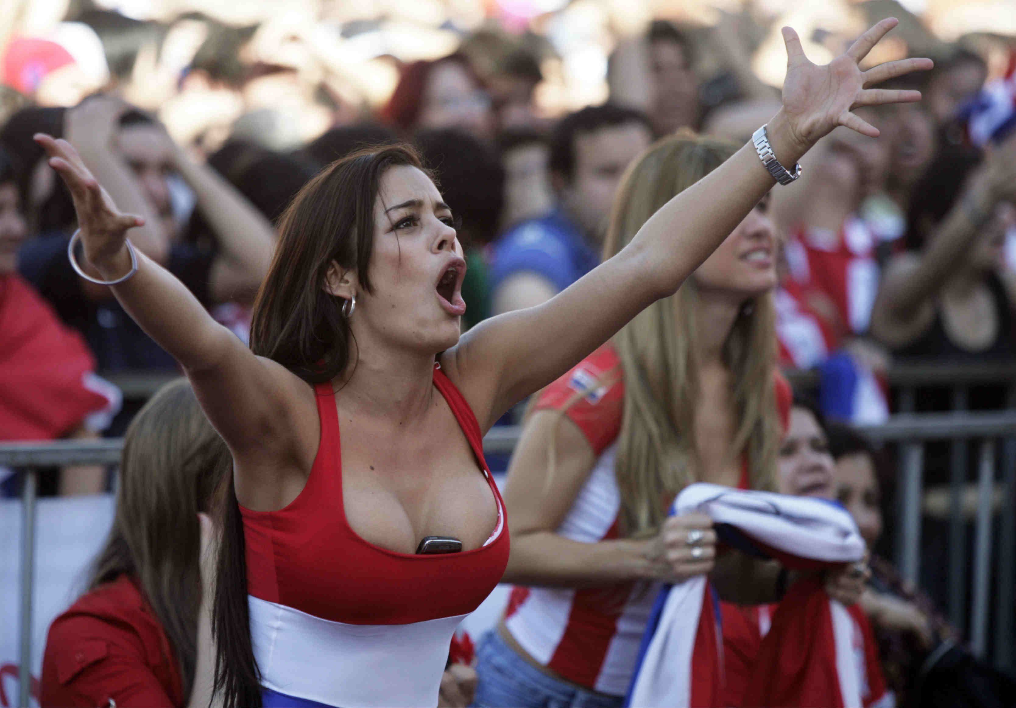 Paraguay Countries With The Hottest Female Football Fans photos
