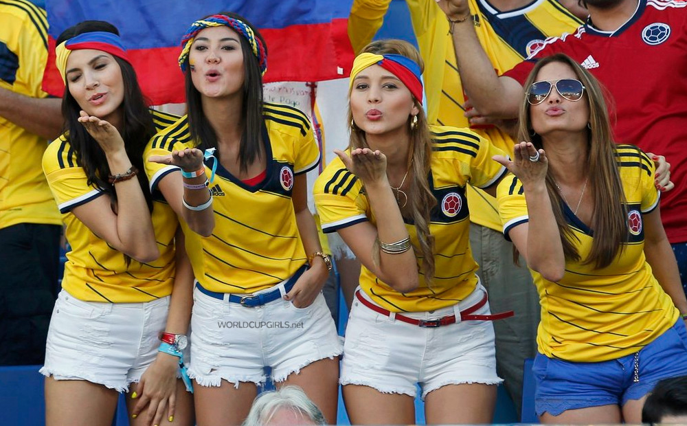 Photos of hot female fans in World Cup 2018 Russia