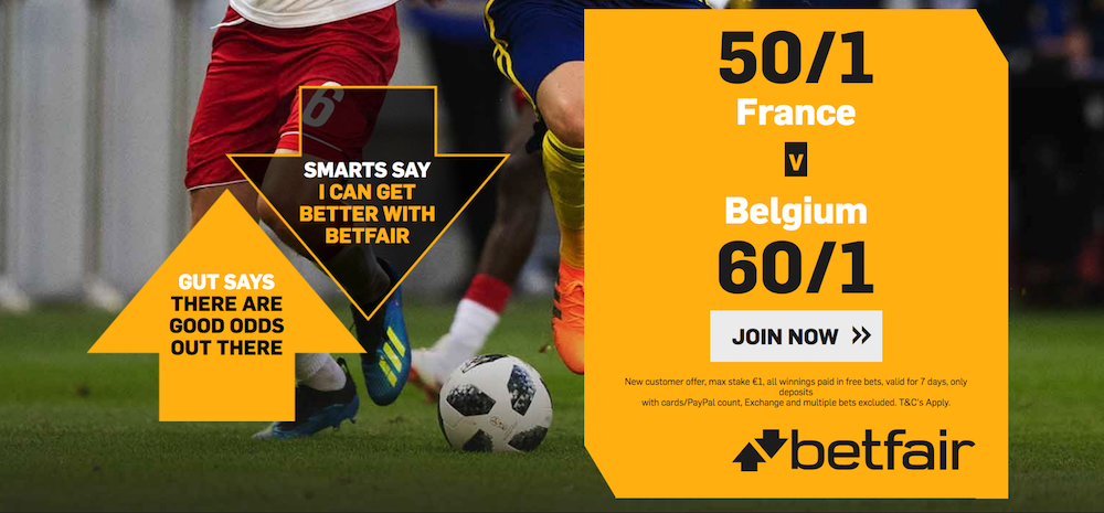 France vs Belgium predictions, betting tips, odds & match