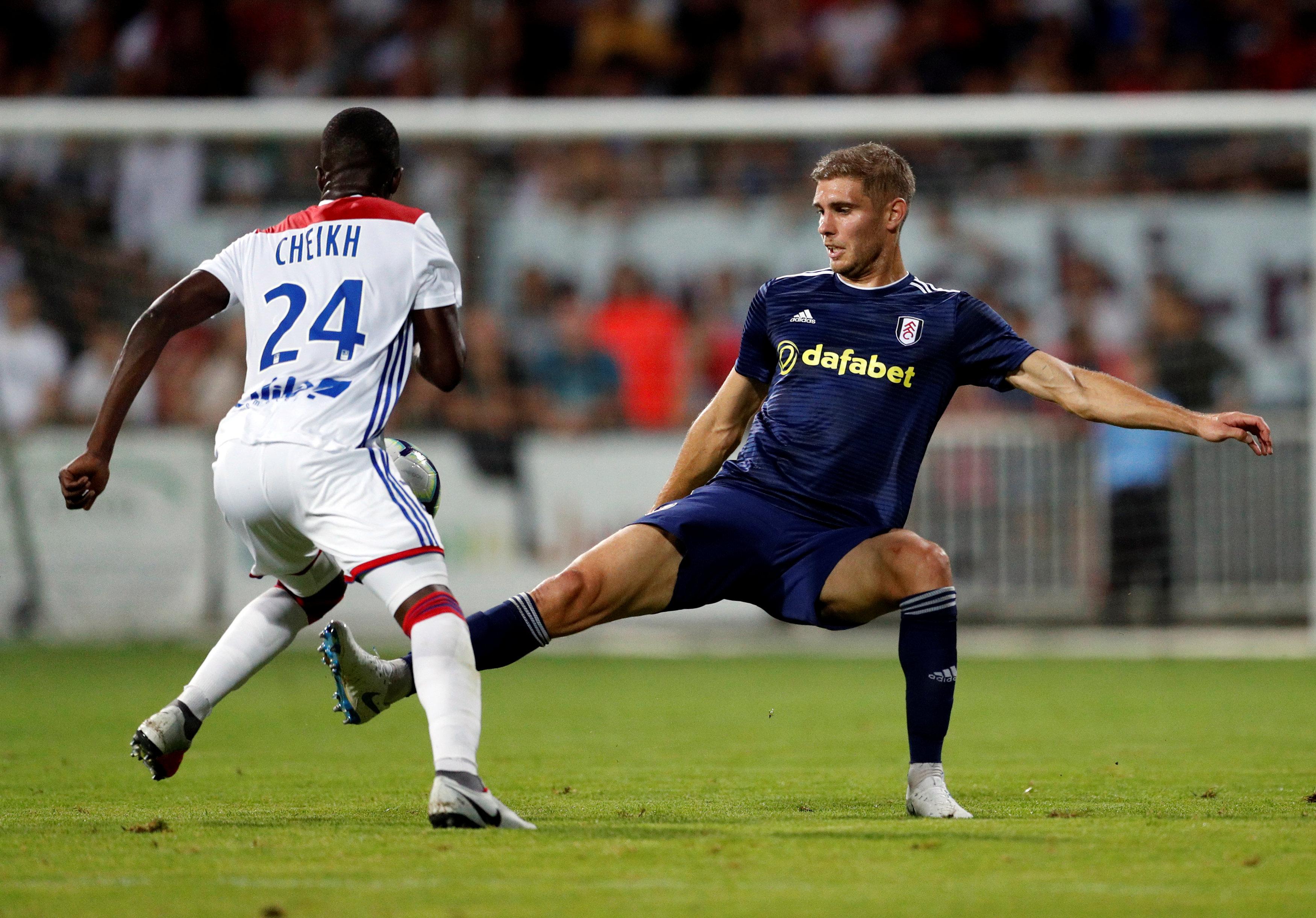 Fulham squad 2018 2019 Maxime Le Marchand