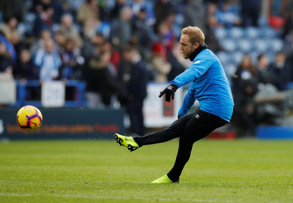 Huddersfield highest paid player 2019- Pritchard