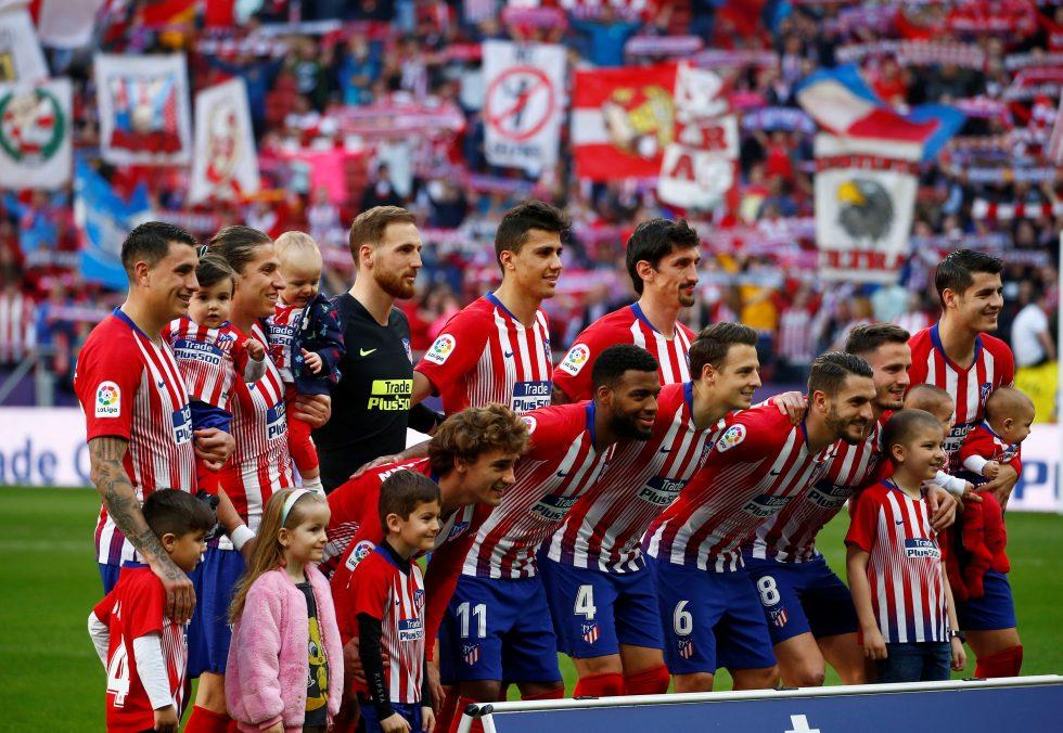 Atletico Madrid players salaries 2018-19