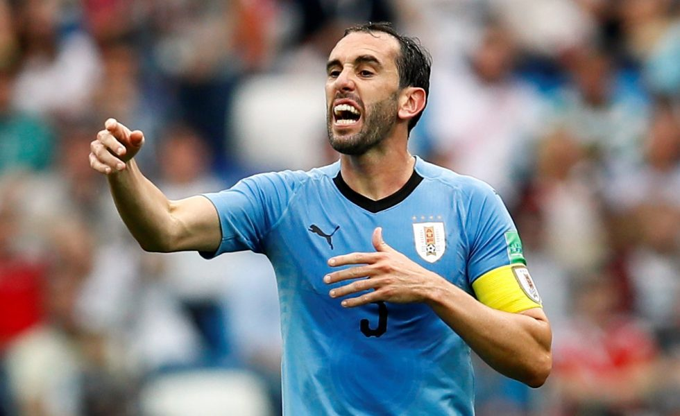 Diego Godin is one of the Football Players Who are Out of Contract in Summer 2019