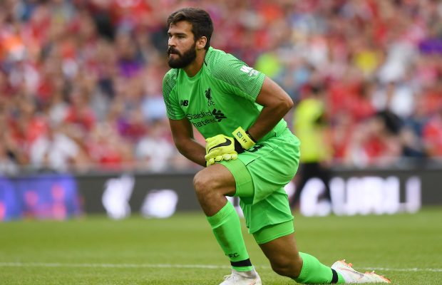 Alisson is part of the Premier League Team of the week 16 - EPL Game Week 16 - 2018/19