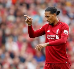 Virgil van dijk says that Liverpool will remain grounded