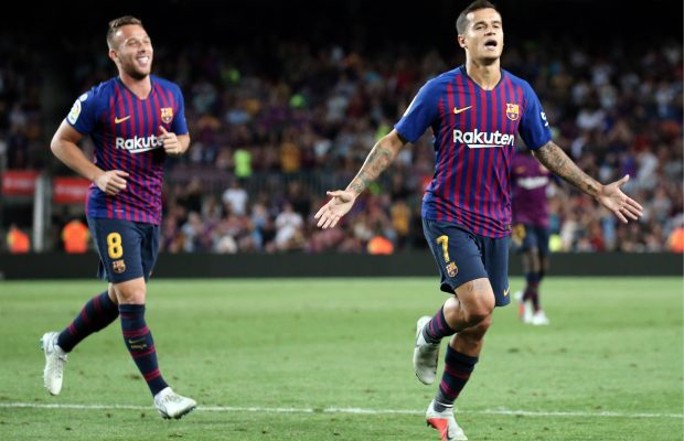 Valverde says why he benched Coutinho