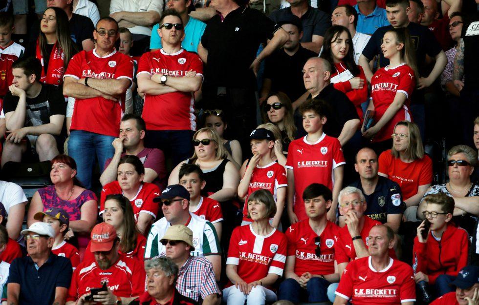 Barnsley fans 2018