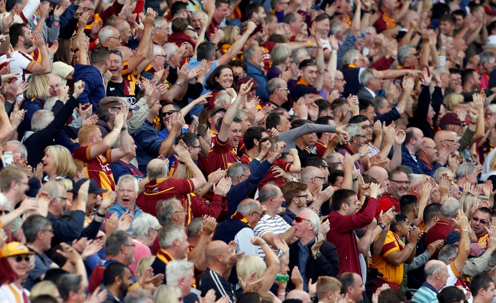 Bradford City supporters 2018