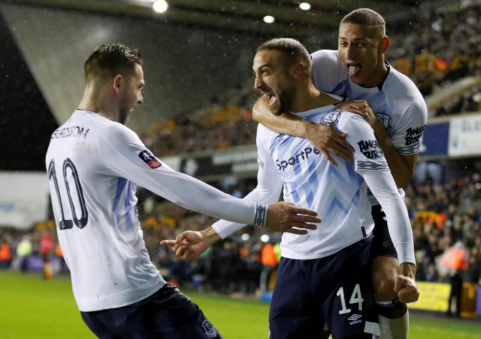 EvertonFC Squad 2018-19