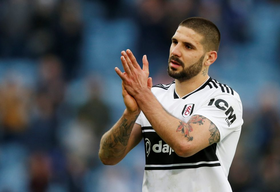 Fulham Forwards 2019- Mitrovic