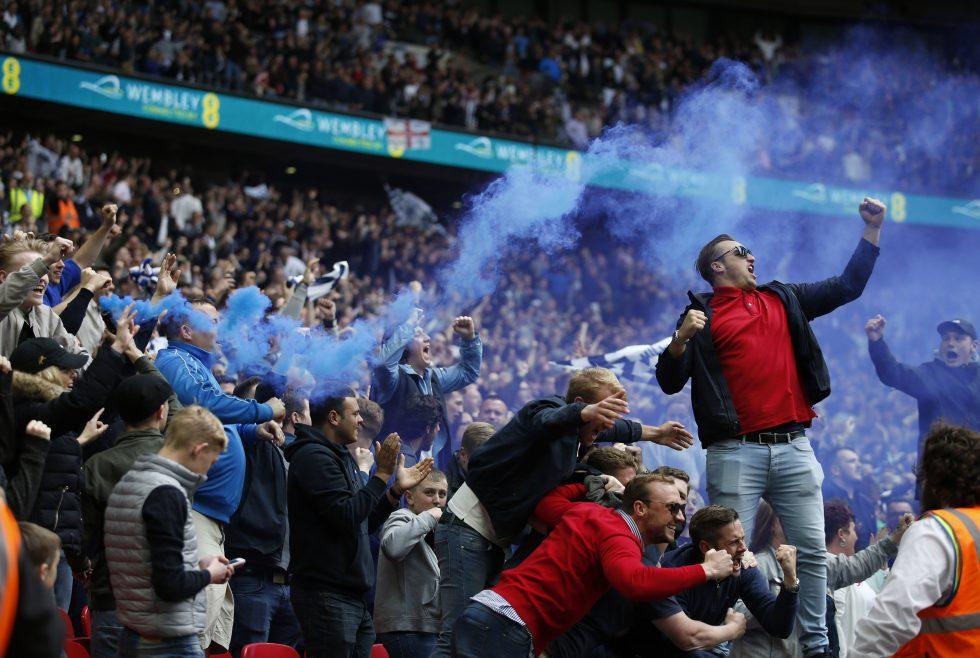Millwall FC fans