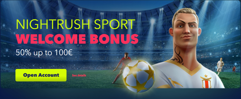 NightRush sport bonus