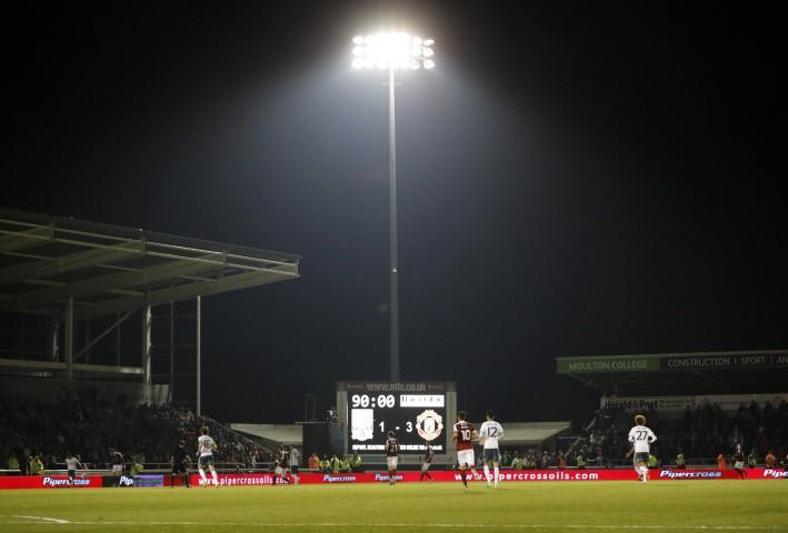 Northampton Town Sixfields Stadium