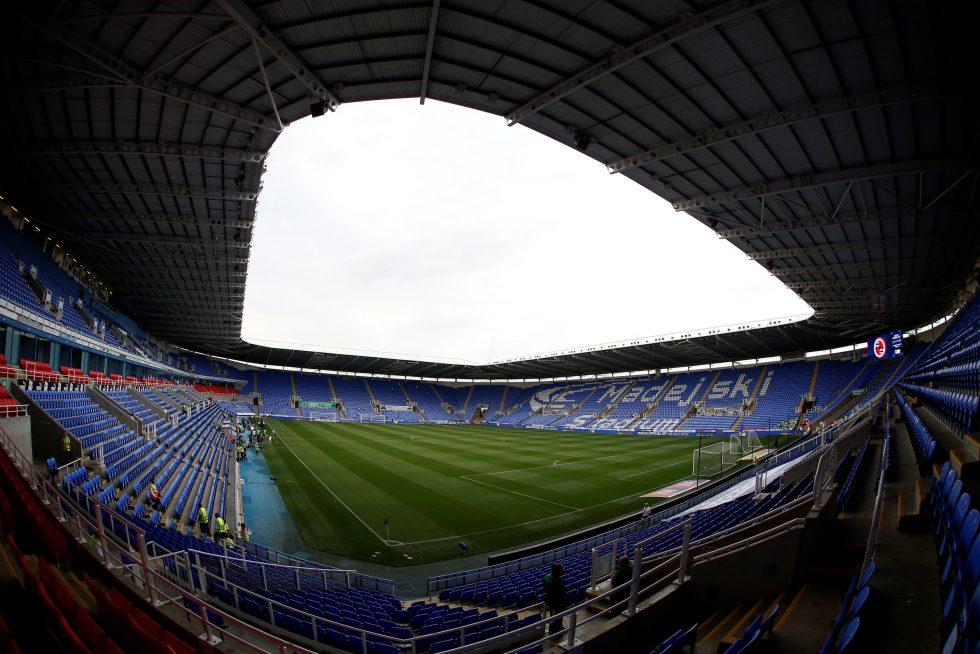 Reading FC Madejski stadium 2020