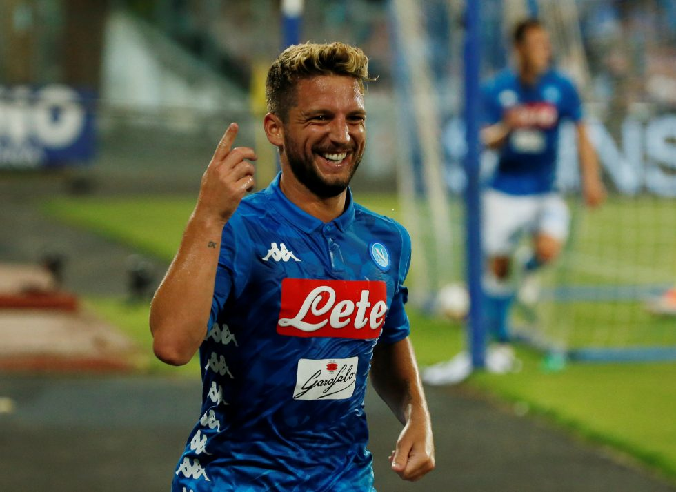 SSC Napoli Player wages Dries Mertens