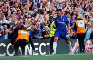 Maurizio Sarri praised Eden Hazard