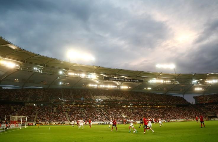VFB Stuttgart home ground Mercedes-Benz Arena