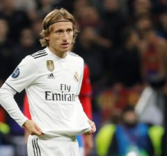 Luka Modric is one of the top 10 dribblers in fifa 19