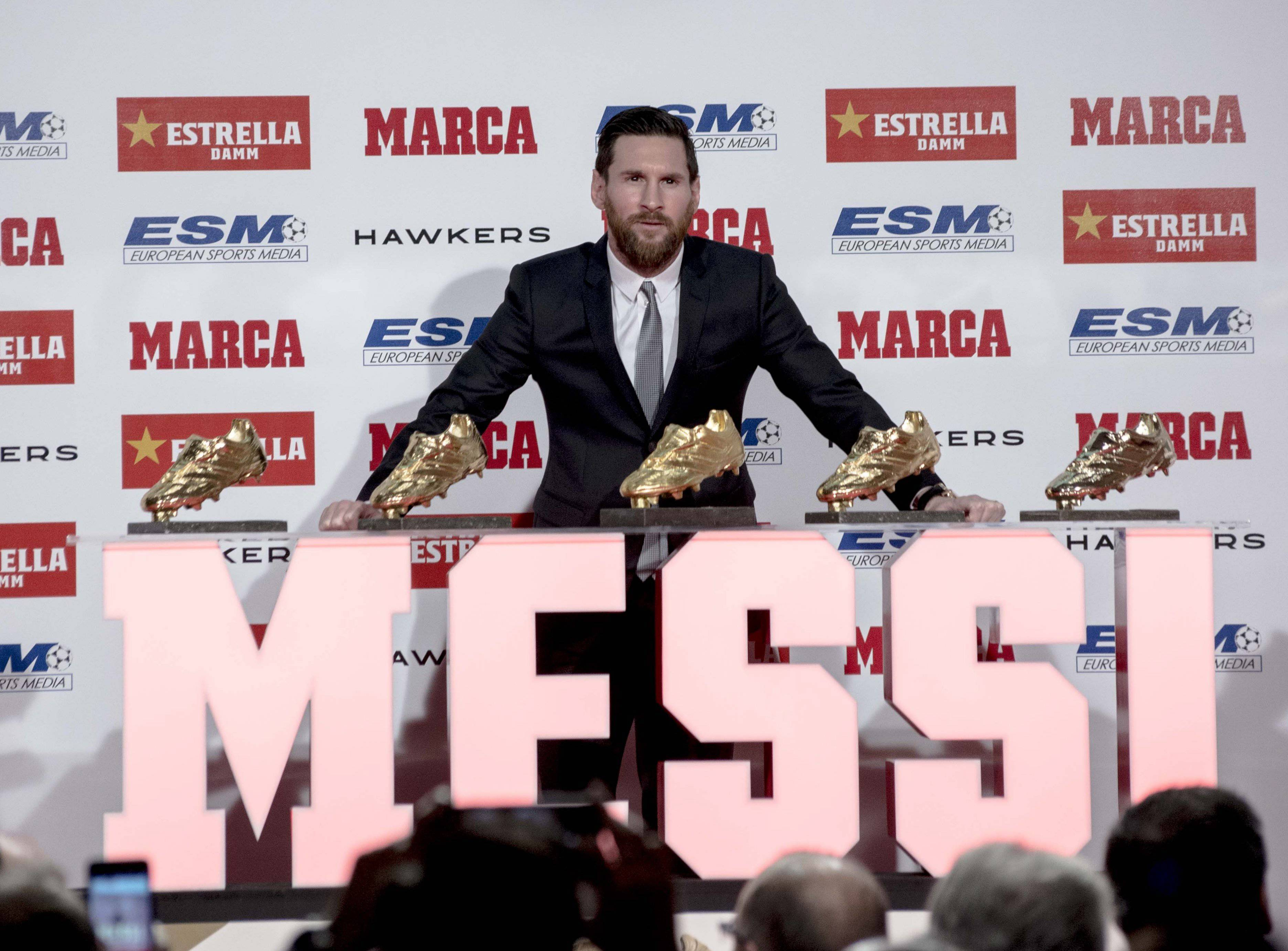 La Liga Golden Boot winners list: past all time winners 1928-2019
