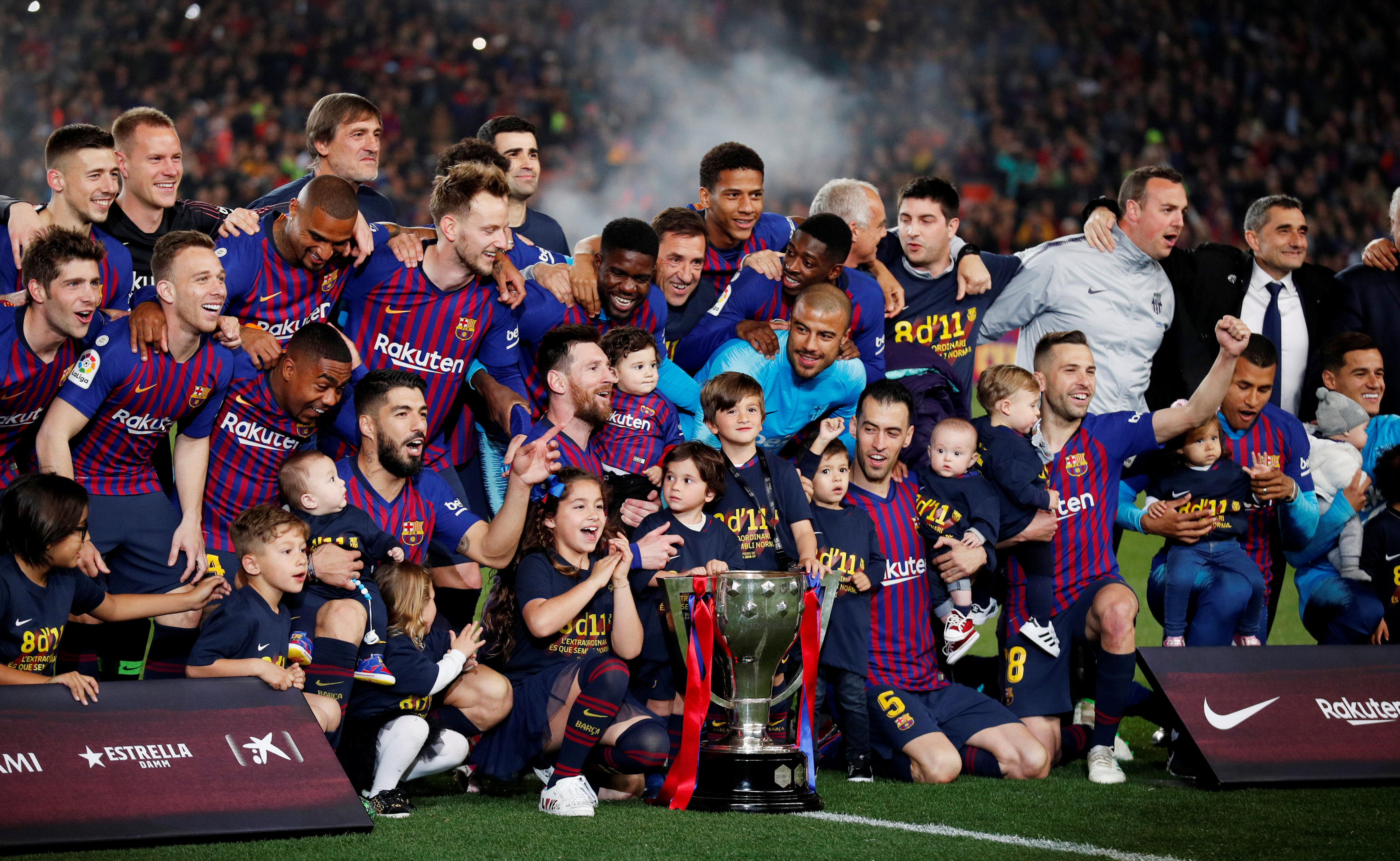 Spanish La liga all time past winners list 1929-2019