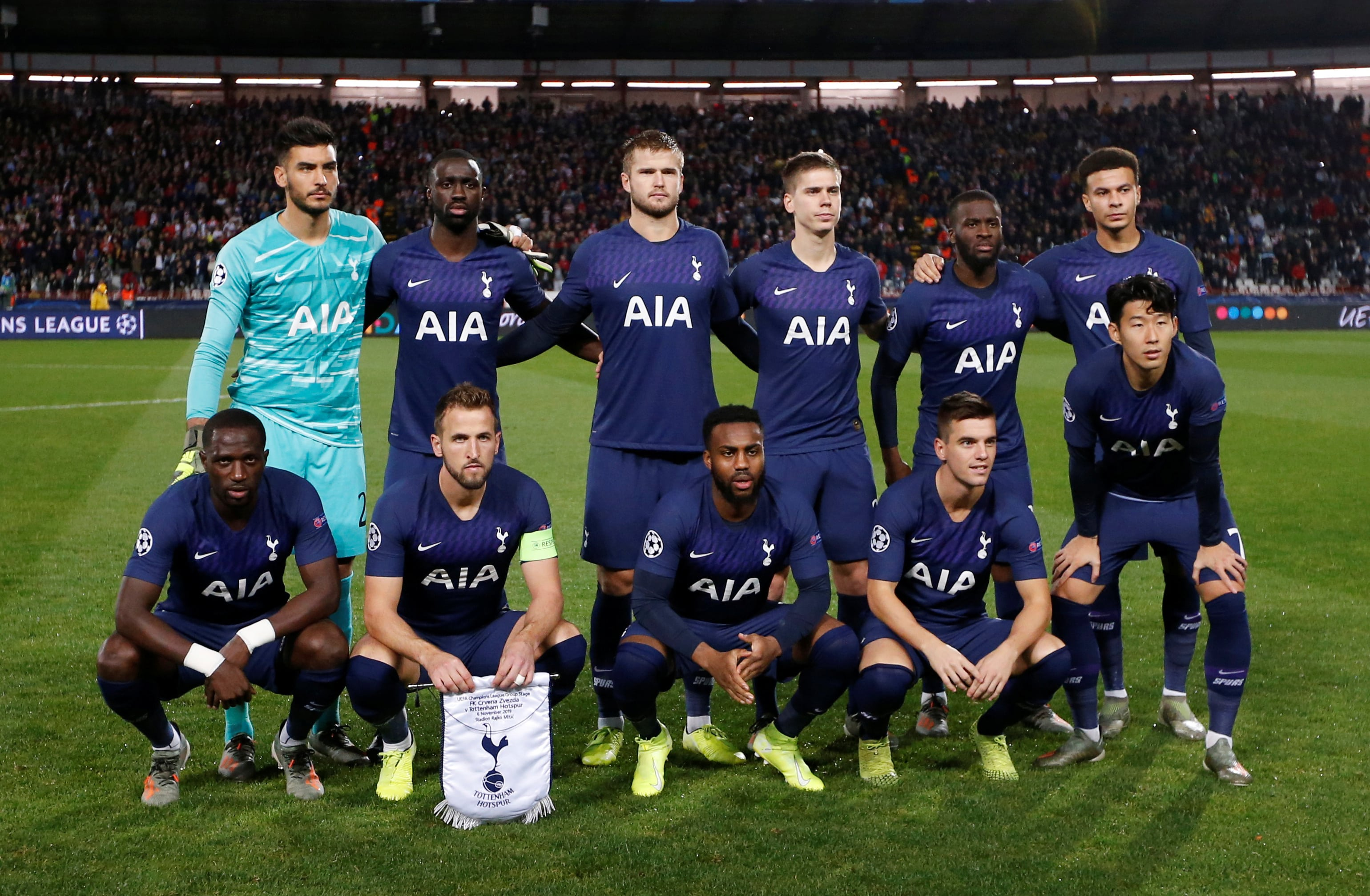 Tottenham Top European competition scorers