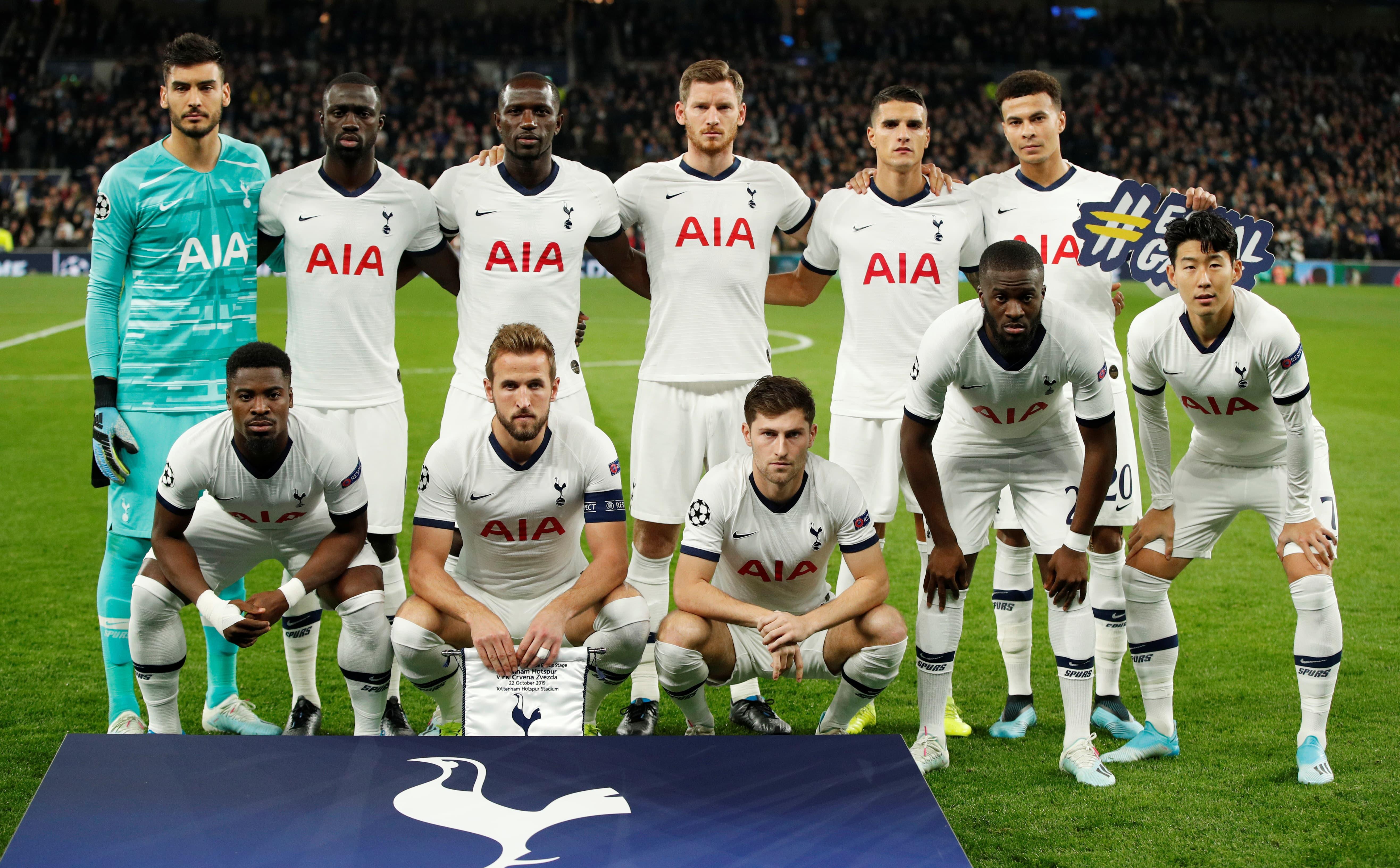 Tottenham Top Goalscorer By Season - Since 1992