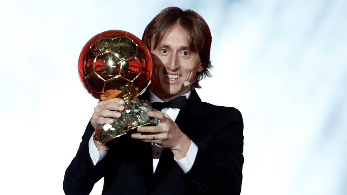 Ballon d'Or Award Winner 2018 - Luka Modric Wins 2018 Ballon d'Or Award
