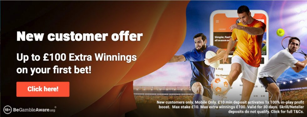New betting sites with cash out