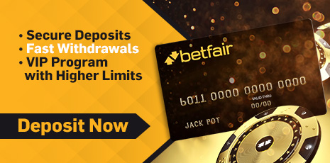 Betfair deposit and withdrawals