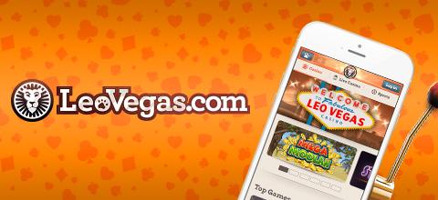 LeoVegas mobile app
