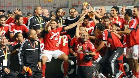 CAF Champions League Past Winners