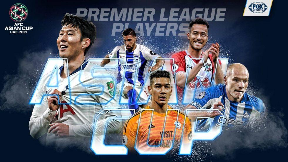 Asian Cup Premier League Players - which Premier League players are going to the Asian Cup 2019?