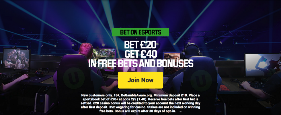 Betting sites with E-sports