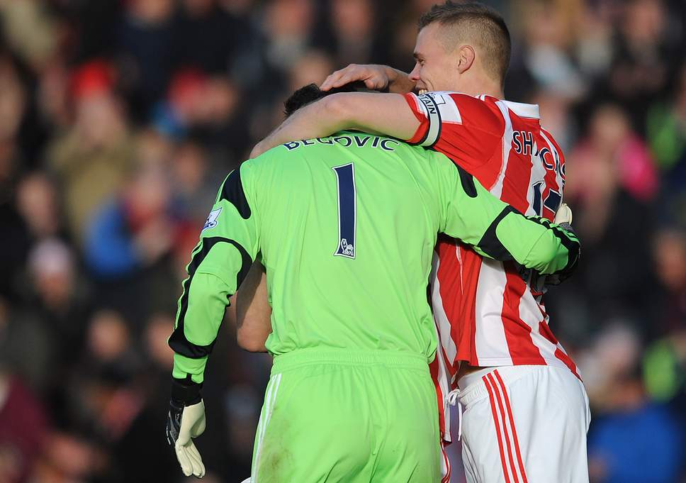 Fastest goal in the Premier League - Asmir Begovic  - Stoke 1-1 Southampton - 2013-11-02