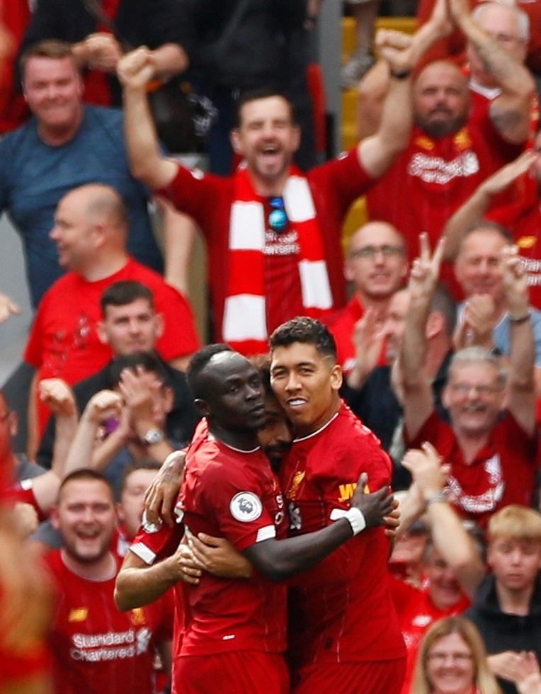 Liverpool Team 2019-20 Firmino Salah