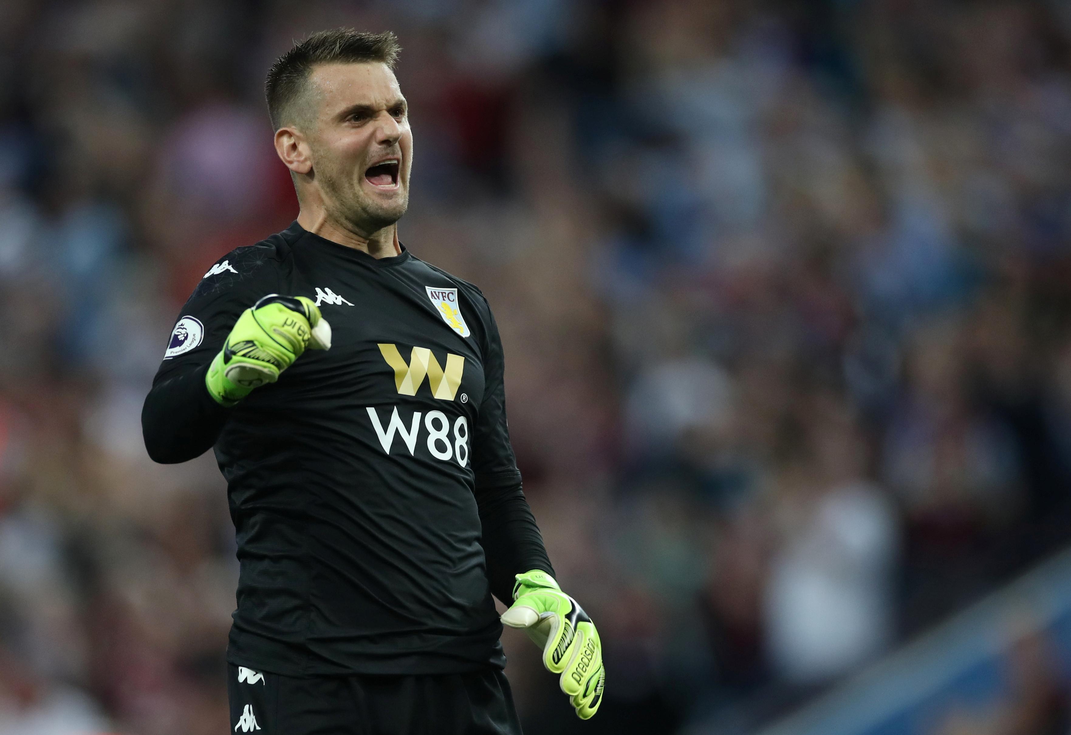 Aston Villa FC Goalkeepers 2019/20