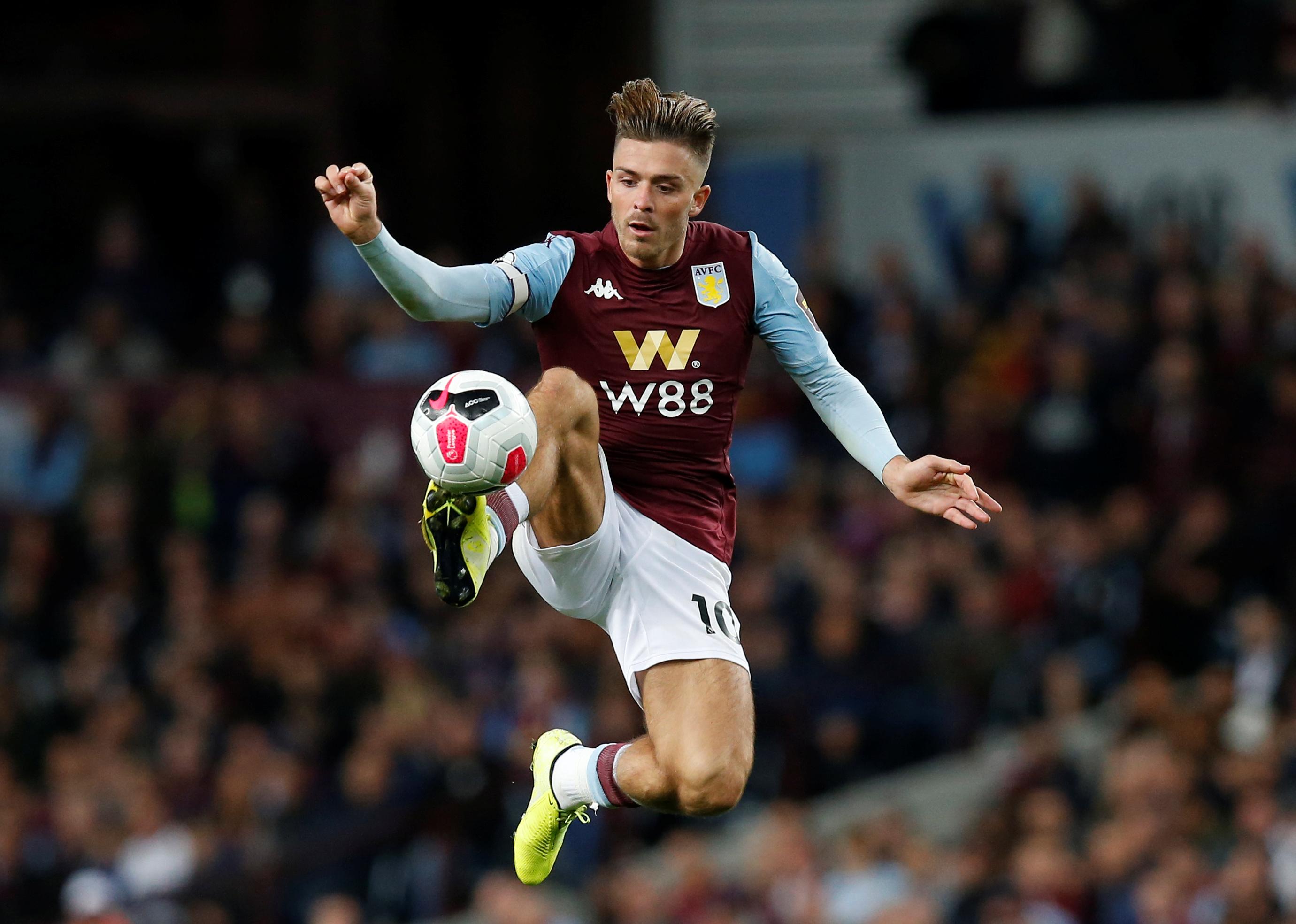 Aston Villa FC Midfielders 2020: Jack Grealish
