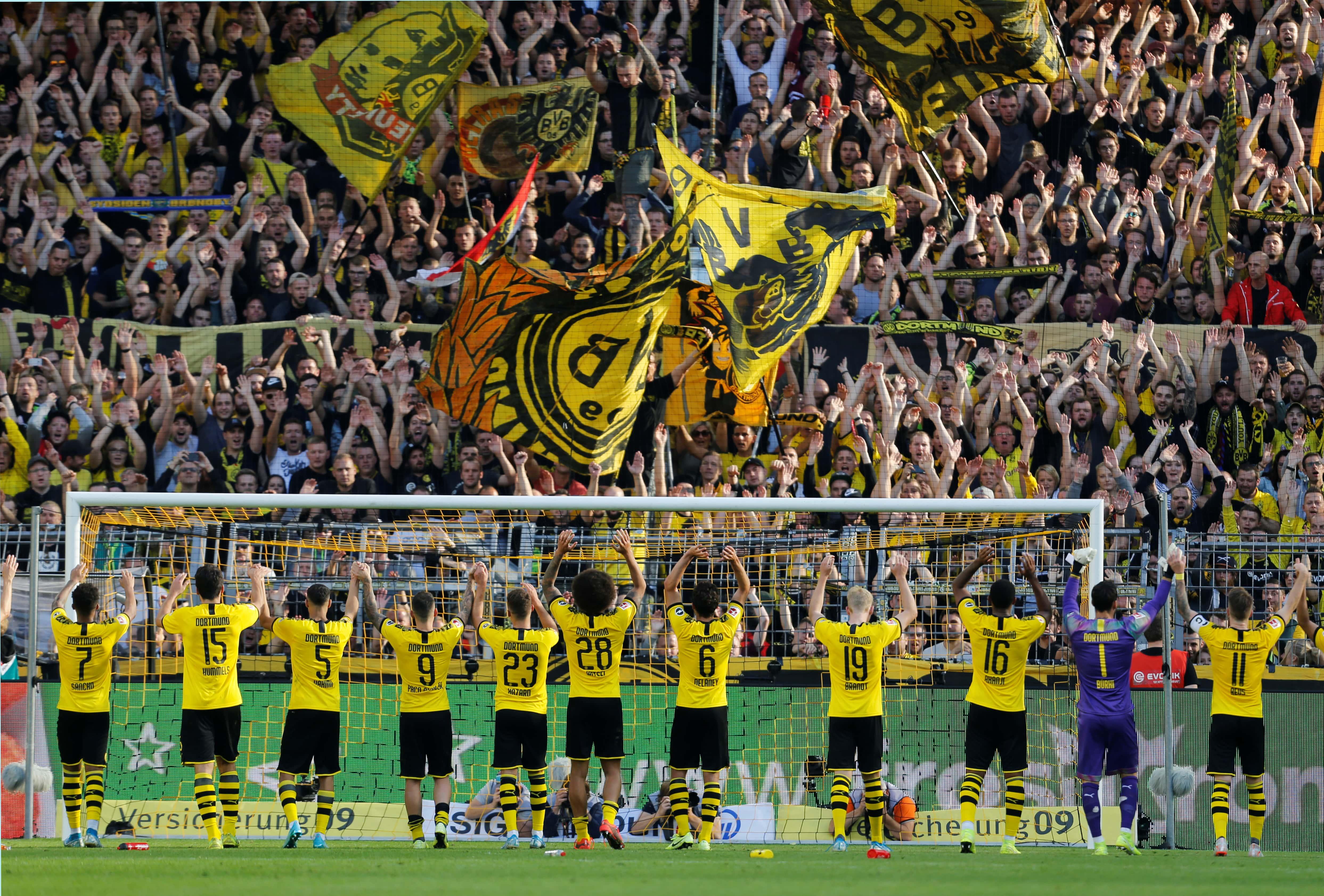 Borussia Dortmund Players Salaries 2020