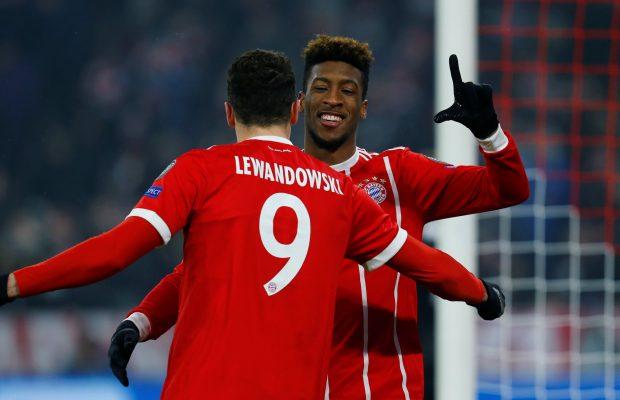 Bayern Munich Won't Be Punishing Lewandowski And Coman For Training Ground Fight