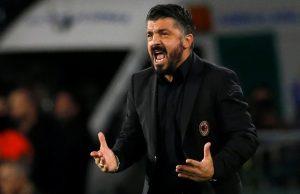 Gattuso wants Piatek to take record off Ronaldo