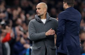 Guardiola happy with 1-0 defeat