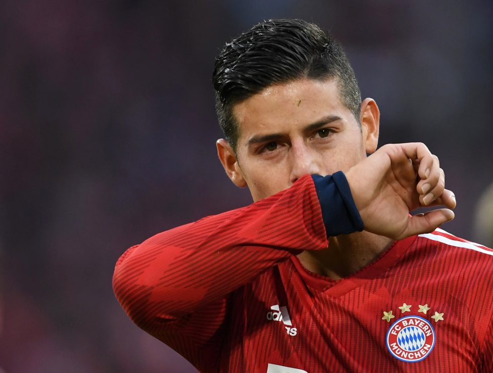James Rodriguez's father-in-law insists he wants to leave Real Madrid