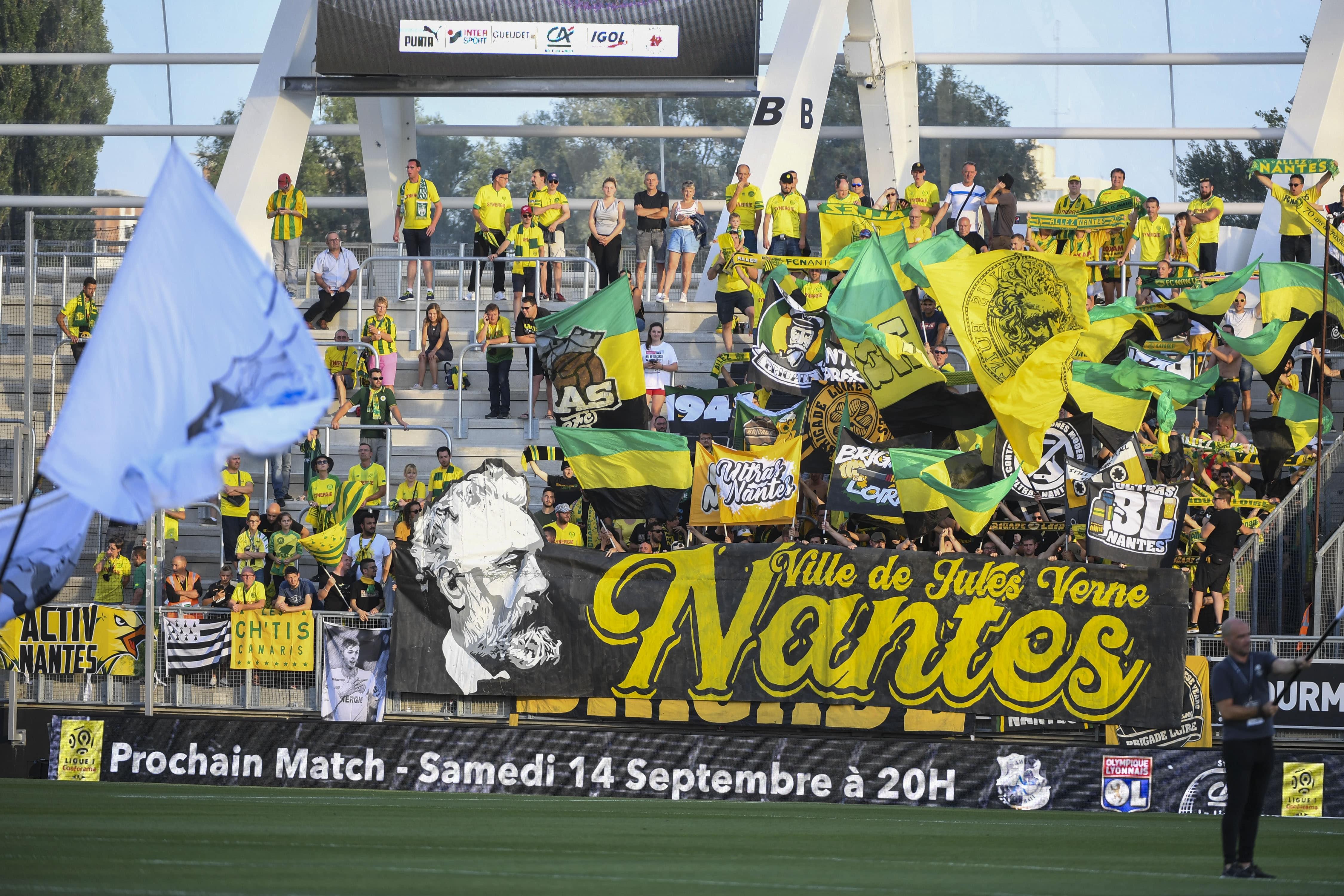 Nantes fans 2020