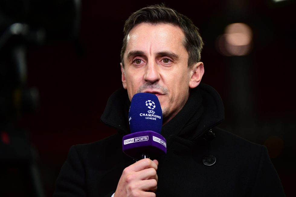 Neville's take on title run-in