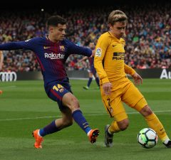 Antoine Griezmann Won't Force Coutinho Out Of Barcelona: Agent