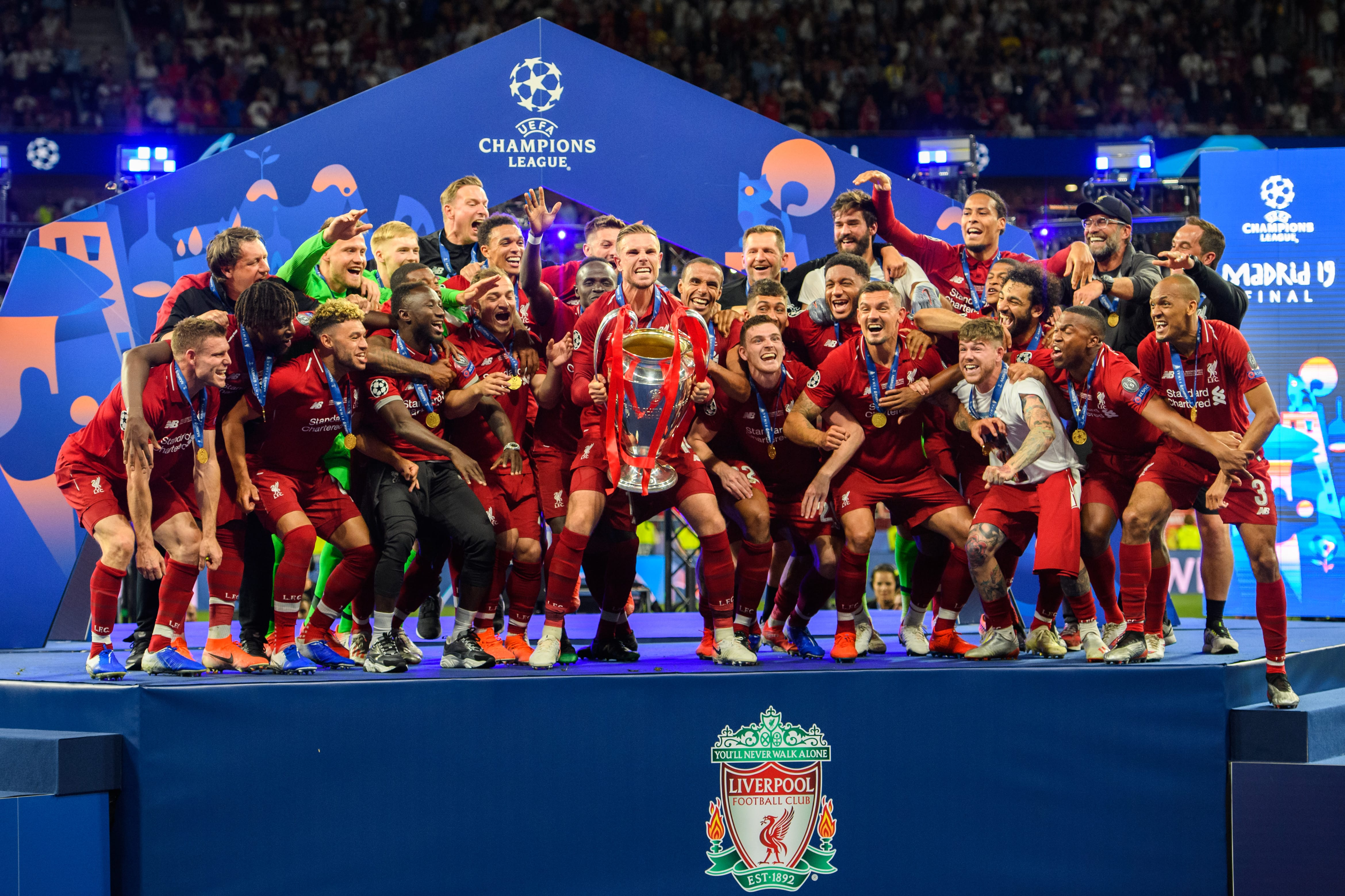 Champions League Winners list - Past winners list of all time 1956-2019!