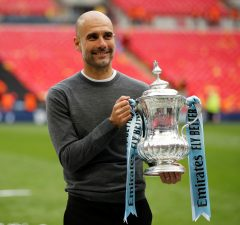 Guardiola compares winning domestic treble to Champions League victory